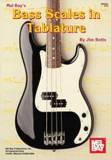Jim Betts: Bass Scales in Tablature