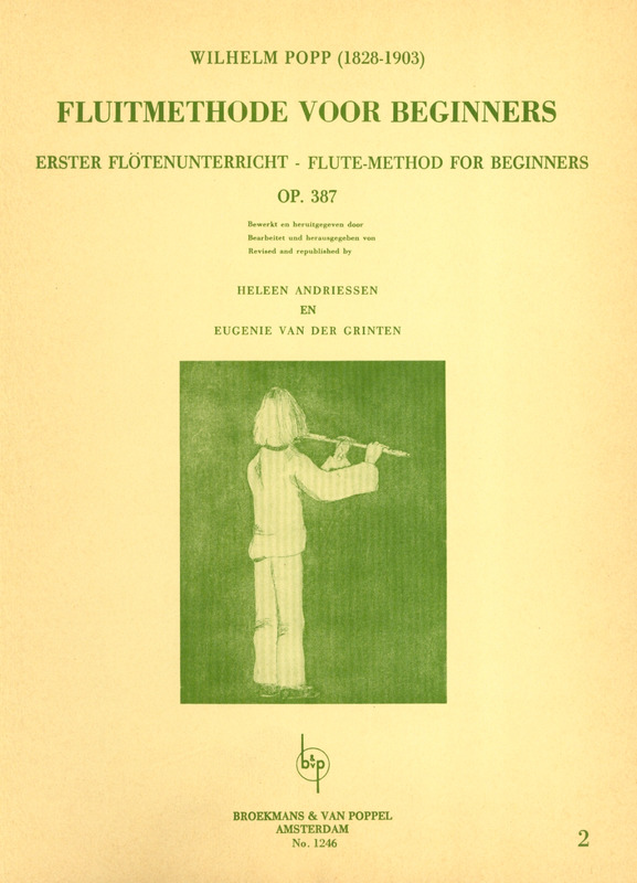 Wilhelm Popp: Flute-Method for beginners 2