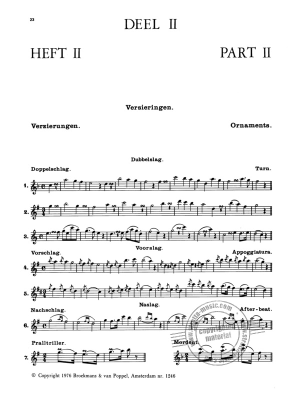 Wilhelm Popp: Flute-Method for beginners 2 (1)