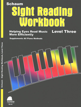Schaum Sight Reading Workbook