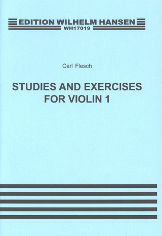 Flesch Carl: Flesch 51 Studies And Exercises Volume 1 Violin Solo