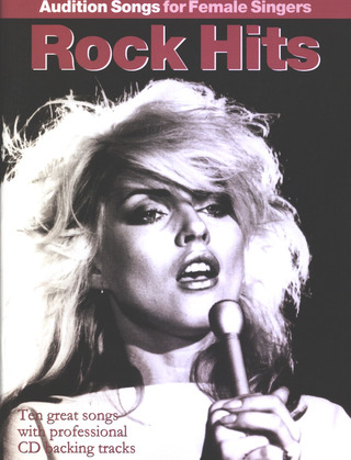 Audition Songs For Female Singers Rock Hits Pvg Book/Cd
