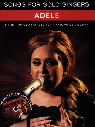 Adele Adkins: Songs for Solo Singers: Adele