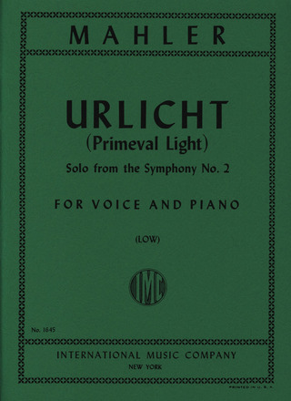 Gustav Mahler: Primeval Light