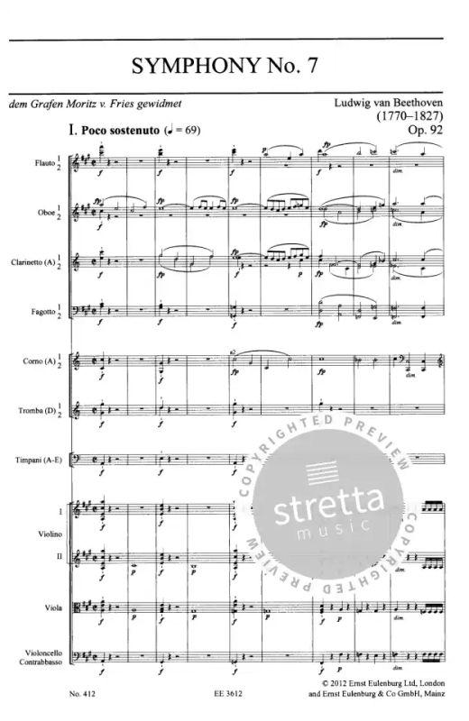 Beethovens 7 Sinfonie