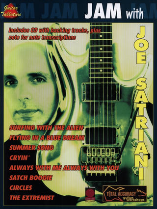 Joe Satriani: Jam With Joe Satriani Bk/Cd Gtab