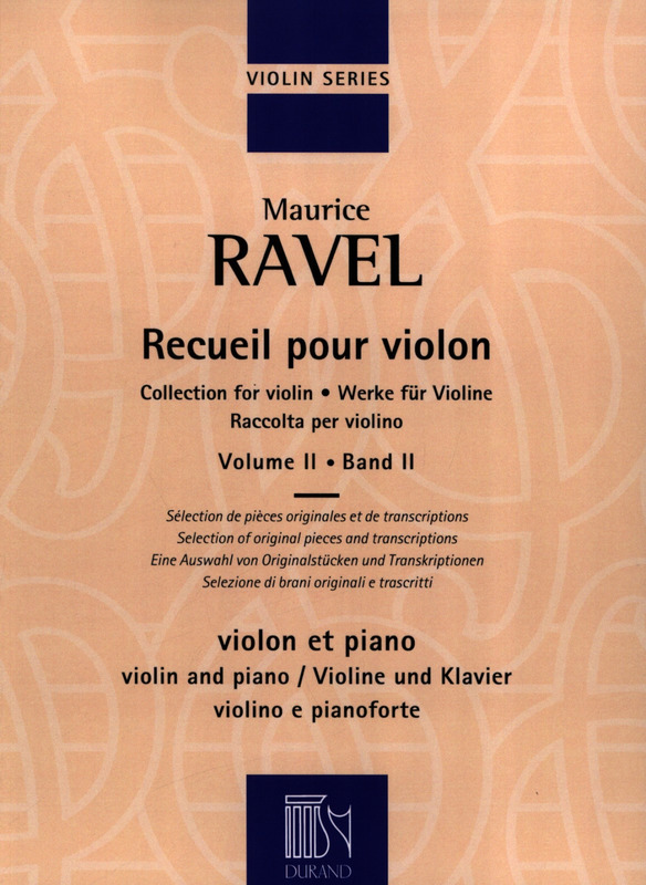 Maurice Ravel: Collection for violin 2