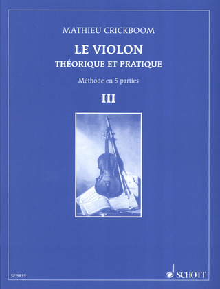 Mathieu Crickboom: Le Violon 3