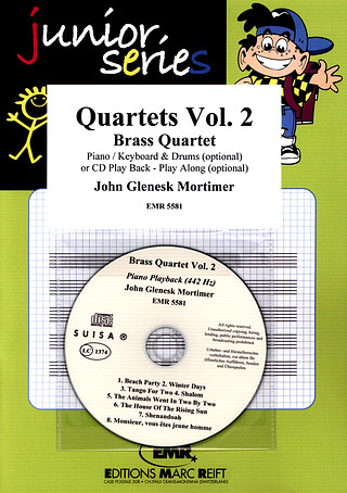 John Glenesk Mortimer: Brass Quartet Vol. 2