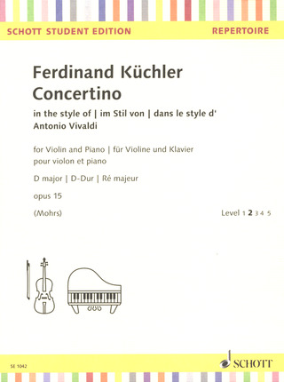 Ferdinand Küchler: Concertino D major op 15