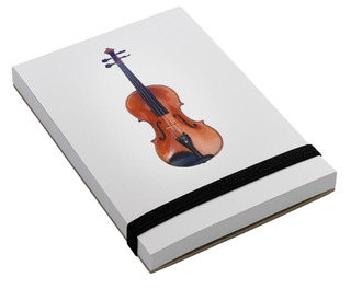Notepad Violin