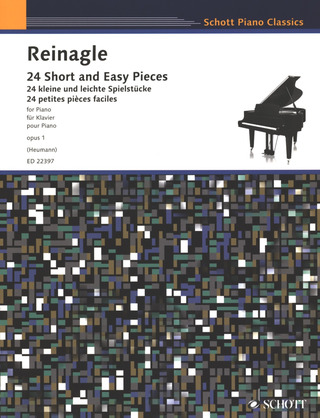 Alexander Reinagle: 24 Short and Easy Pieces