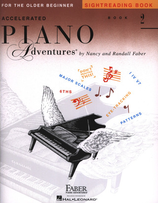 Randall Faber y otros.: Accelerated Piano Adventures 2 – Sightreading