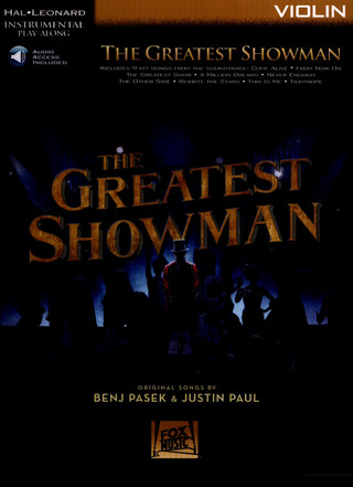 Benj Pasek y otros.: The Greatest Showman (Violin)