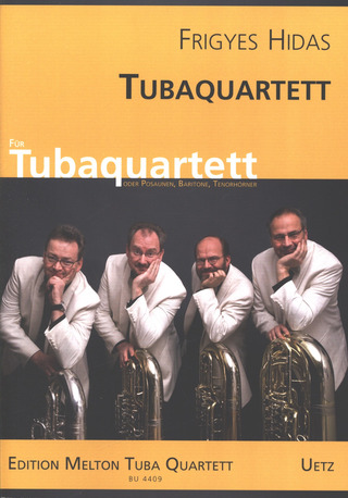 Frigyes Hidas: Quartet For Tubas