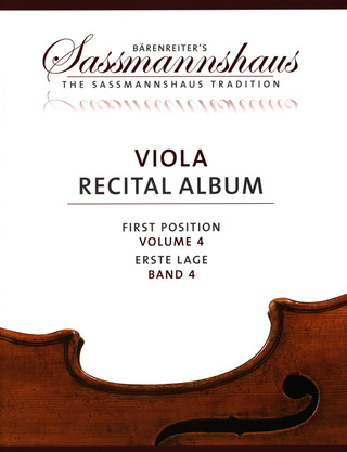 Viola Recital Album 4