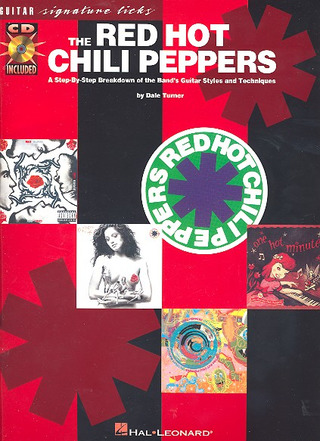 Red Hot Chili Peppers: Red Hot Chili Peppers Guitar Signature Licks Book And Cd
