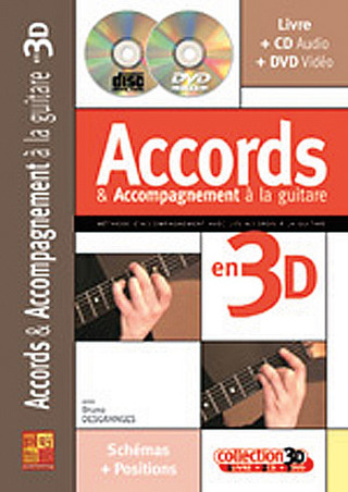 Bruno Desganges: Accords & Accompagnement à la guitare en 3D