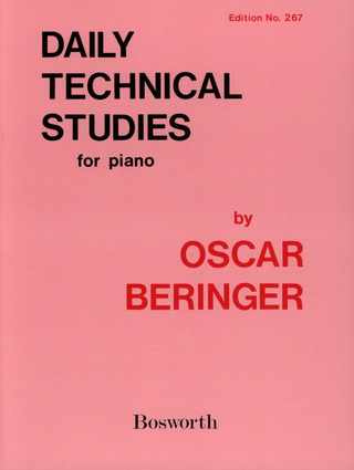 Oscar Beringer: Daily Technical Studies