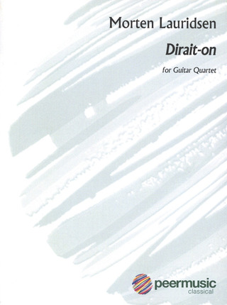 Morten Lauridsen: Dirait On