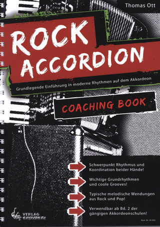 Thomas Ott: Rock Accordion Coaching Book