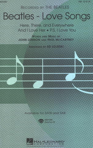 The Beatles: Beatles – Love Songs (Choral SAB)