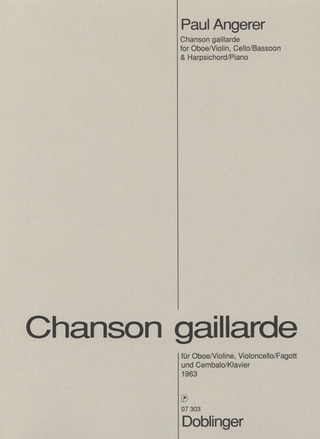 Paul Angerer: Chanson gaillarde