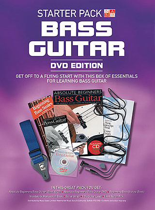 In A Box Starter Pack Bass Guitar Dvd