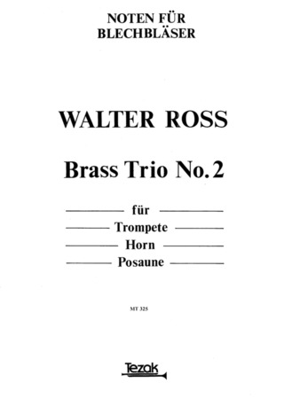 Ross Walter: Brass Trio 2