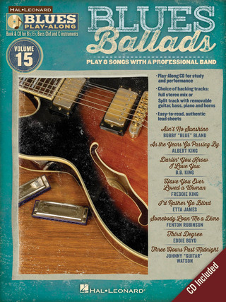 Blues Play-Along Vol. 15: Blues Ballads