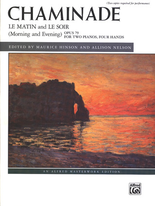 Cécile Chaminade: Le matin and Le soir (Morning and Evening), op. 79