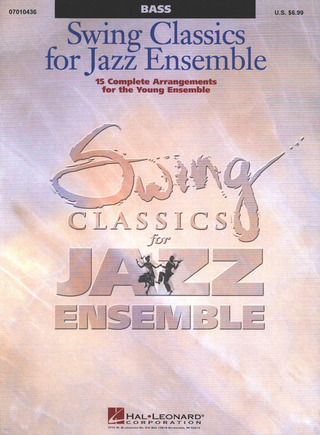 Swing Classics for Jazz Ensemble - Bass