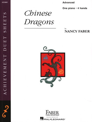 Nancy Faber: Piano Adventures – Chinese Dragons