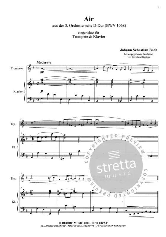 Bach Orchestersuite Nr 3