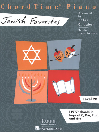 Piano Adventures 2B – ChordTime  Jewish Favorites