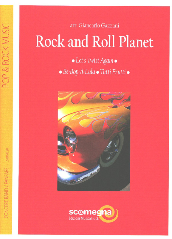 Giancarlo Gazzani: Rock and Roll Planet