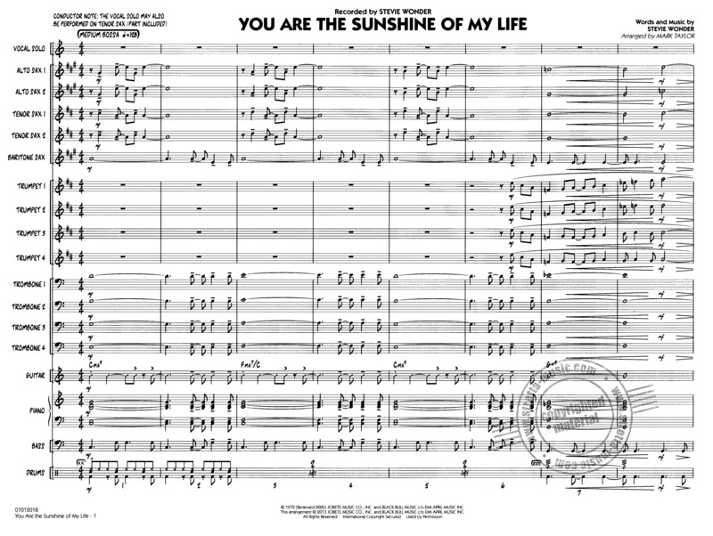 Stevie Wonder: You are the Sunshine of my Life (1)