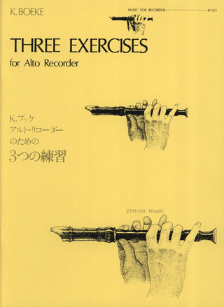 Kees Boeke: Three Exercises