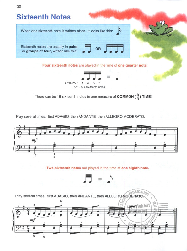 Alfred's Basic Piano Library – Lesson Book 4 from Amanda