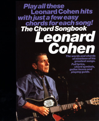 The Chord Songbook – Leonard Cohen
