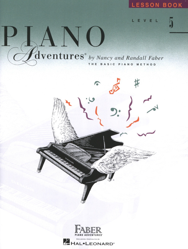 Randall Faber et al.: Piano Adventures 5 – Lesson