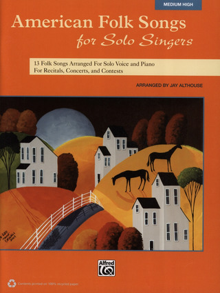American Folk Songs for Solo Singers – Medium High