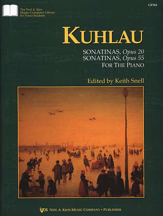 Friedrich Kuhlau: Sonatinas op .20 and op. 55