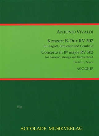 Antonio Vivaldi: Concerto in Bb major RV 502