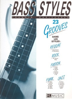 Darizcuren Francis: 23 Grooves (Bass Styles)