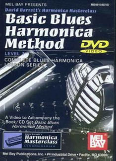 David Barrett: Basic Blues Harmonica Method 1