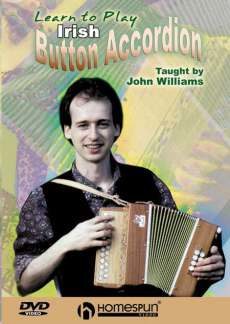 John Williams: Learn To Play Irish Button Accordion Dvd