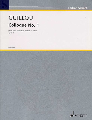 Jean Guillou: Colloque 1 Op 2 (1956)