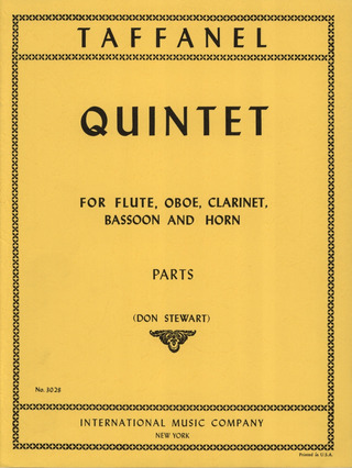 Taffanel Paul: Quintett