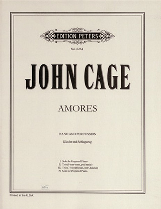 John Cage: Amores